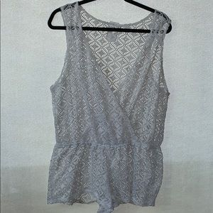 Xhilaration see through swimsuit cover up jumper